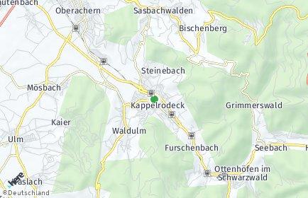 Stadtplan Kappelrodeck