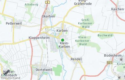 Stadtplan Karben