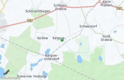 Stadtplan Kargow
