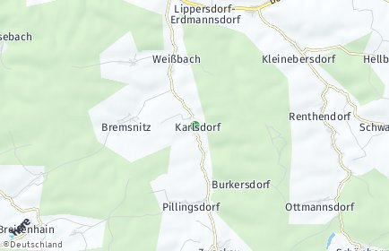 Stadtplan Karlsdorf (Thüringen)
