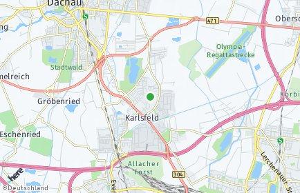 Stadtplan Karlsfeld