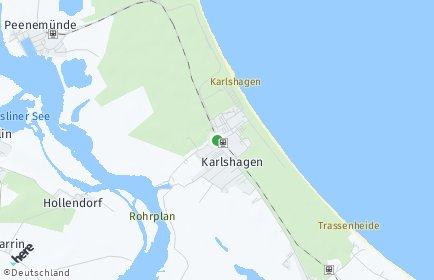 Stadtplan Karlshagen