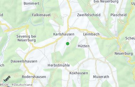 Stadtplan Karlshausen
