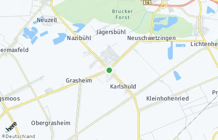 Stadtplan Karlshuld