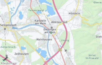Stadtplan Karlstein am Main