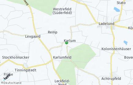 Stadtplan Karlum