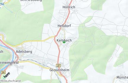 Stadtplan Karsbach