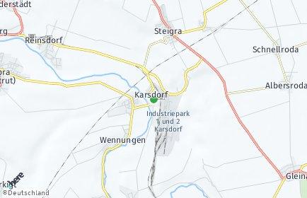 Stadtplan Karsdorf