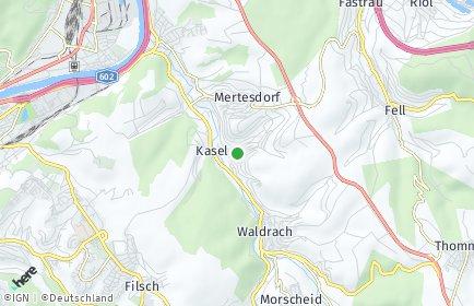 Stadtplan Kasel