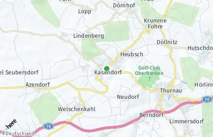 Stadtplan Kasendorf