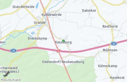 Stadtplan Kasseburg
