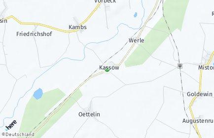 Stadtplan Kassow