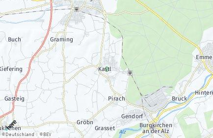 Stadtplan Kastl