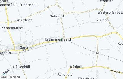 Stadtplan Katharinenheerd