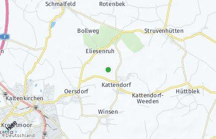 Stadtplan Kattendorf