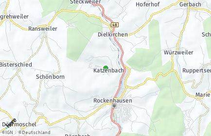 Stadtplan Katzenbach