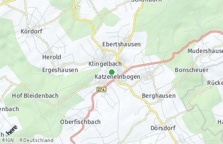 Stadtplan Katzenelnbogen