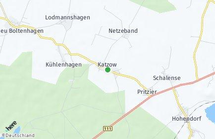 Stadtplan Katzow