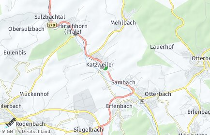Stadtplan Katzweiler