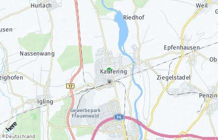Stadtplan Kaufering