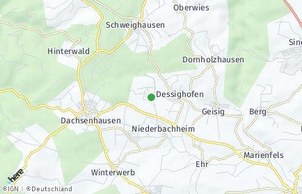 Stadtplan Kehlbach