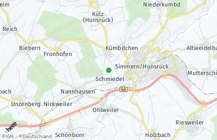 Stadtplan Keidelheim