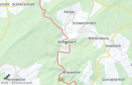 Stadtplan Kellenbach