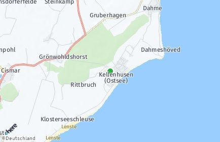 Stadtplan Kellenhusen (Ostsee)