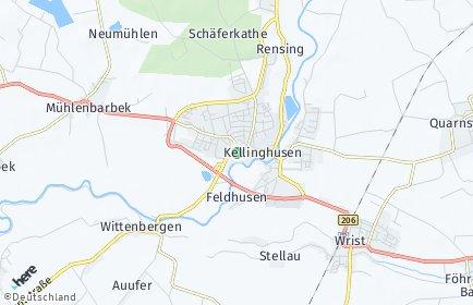 Stadtplan Kellinghusen