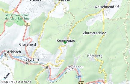 Stadtplan Kemmenau