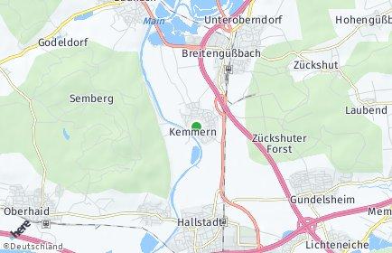 Stadtplan Kemmern