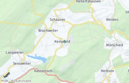 Stadtplan Kempfeld