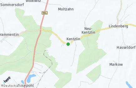 Stadtplan Kentzlin