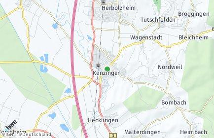 Stadtplan Kenzingen