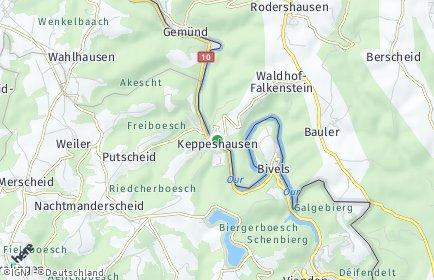 Stadtplan Keppeshausen