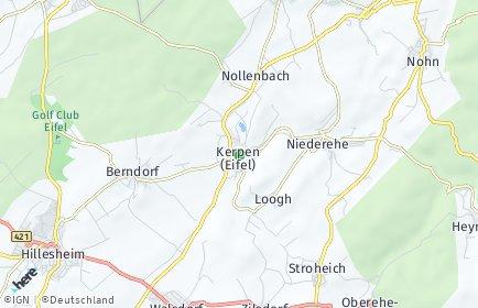 Stadtplan Kerpen (Eifel)