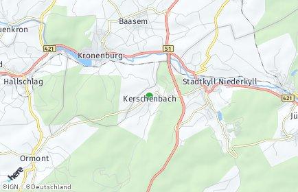 Stadtplan Kerschenbach