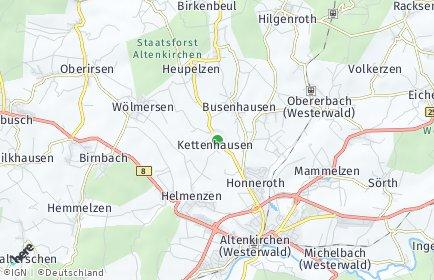 Stadtplan Kettenhausen