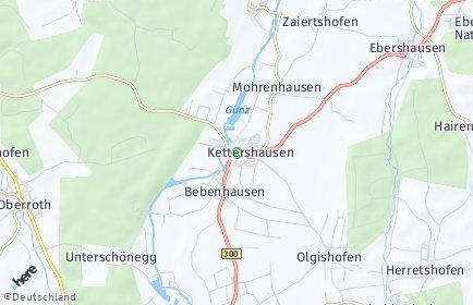 Stadtplan Kettershausen