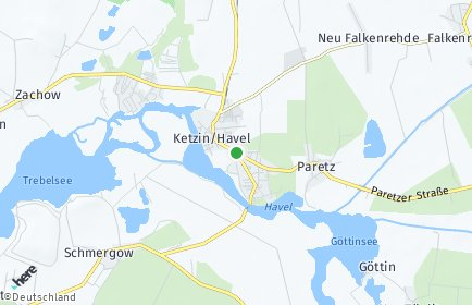 Stadtplan Ketzin/Havel
