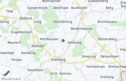 Stadtplan Kienberg
