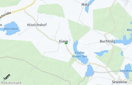 Stadtplan Kieve
