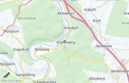 Stadtplan Kipfenberg