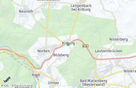 Stadtplan Kirburg