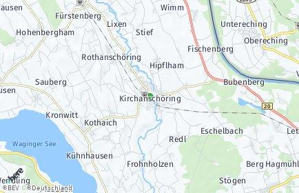 Stadtplan Kirchanschöring