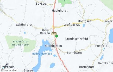 Stadtplan Kirchbarkau