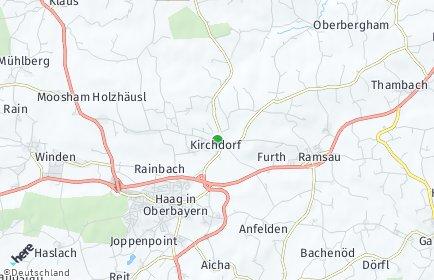 Stadtplan Kirchdorf bei Haag
