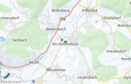 Stadtplan Kirchehrenbach