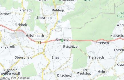 Stadtplan Kircheib