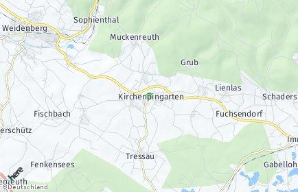 Stadtplan Kirchenpingarten